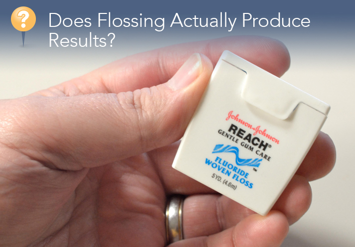 Does Flossing Actually Produce Results?