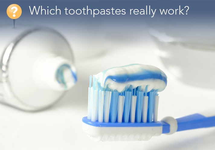 Which Toothpastes Really Work